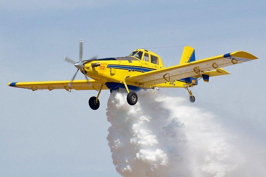 Avión Air Tractor de Castilla-La Mancha