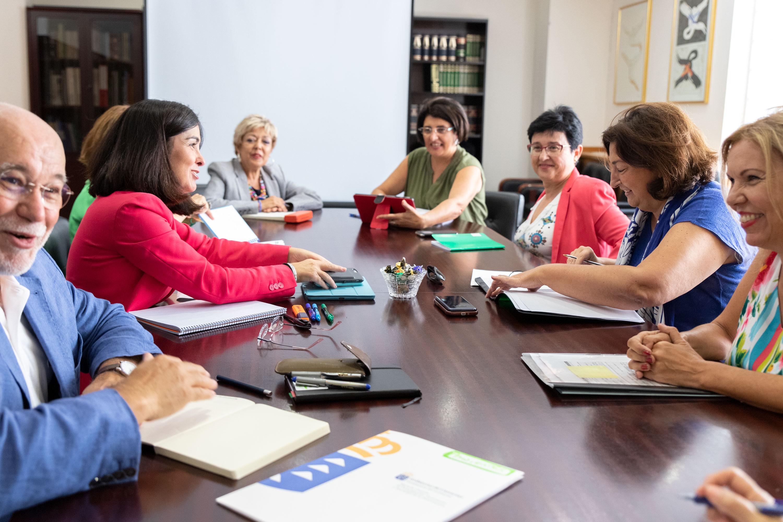 Reunión con Educación