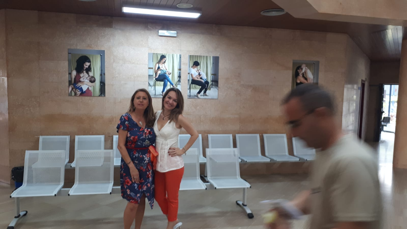 Exposición lactancia CS Canalejas.