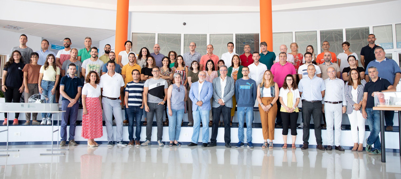Fotografía de familia en el ITC