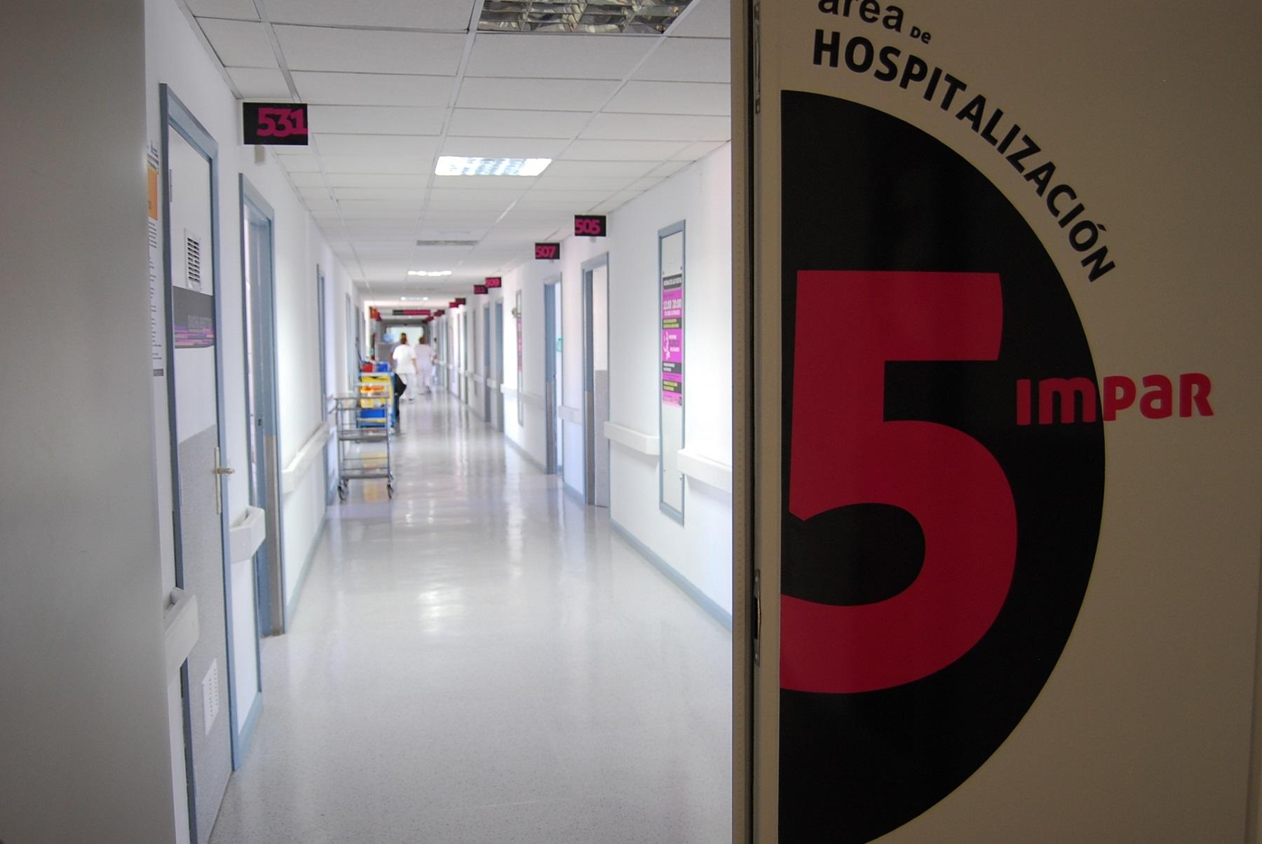 Planta de Hospitalización del HUC.
