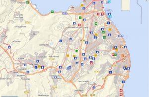 Mapa callejero de Canarias