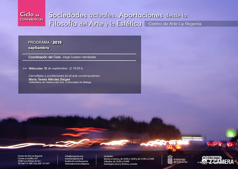 Ciclo de conferencias en La Regenta