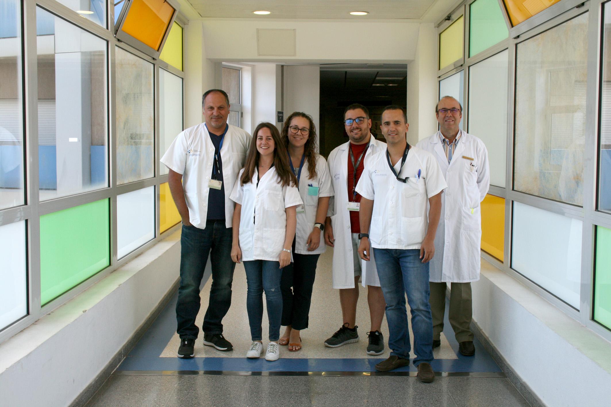 Alergólogos e investigadores del Hospital de La Candelaria.