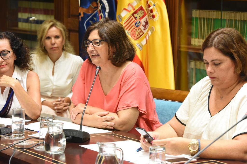 María José Guerra interviene en la Comisión de Educación