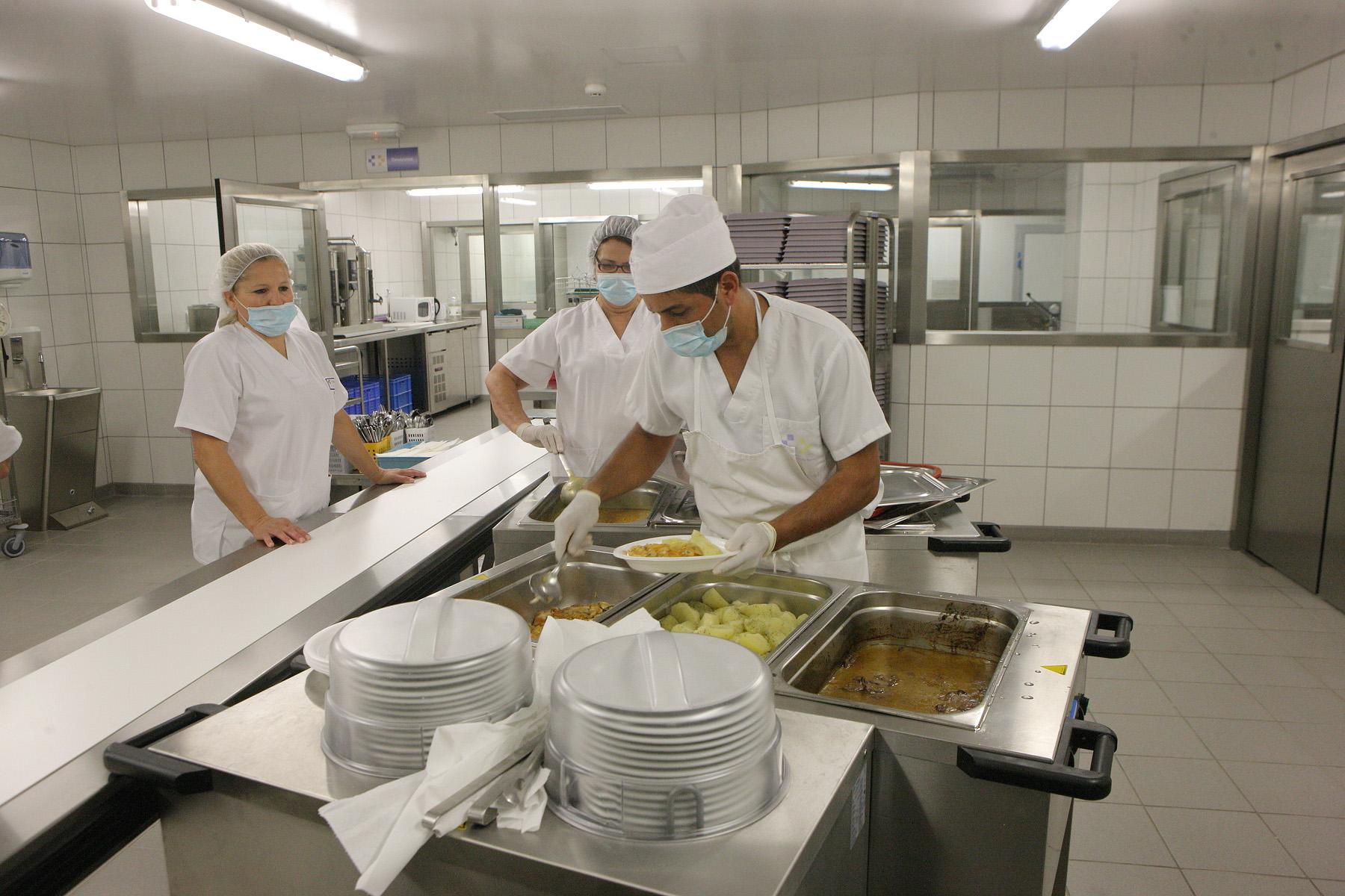 Cocina Hospital General de Fuerteventura.
