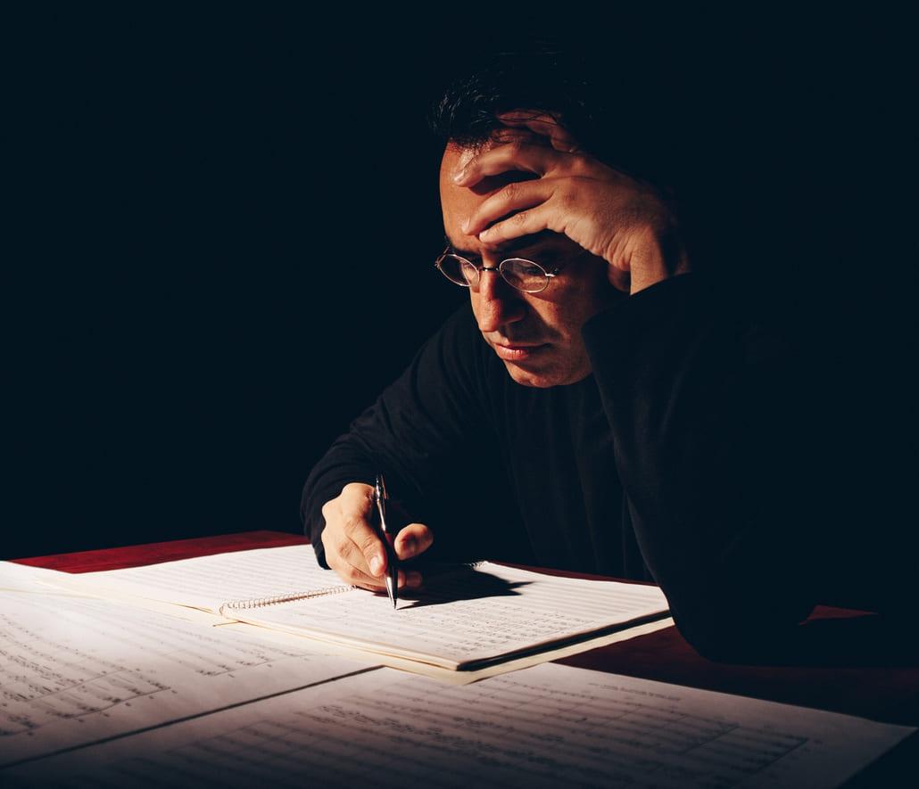 El compositor Diego Navarro