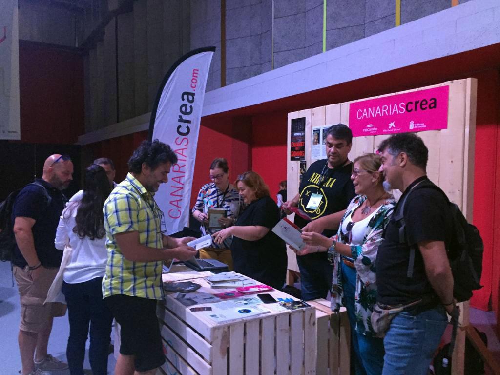 Espacio de Canarias en la Feria Internacional de Teatro y Danza de Huesca