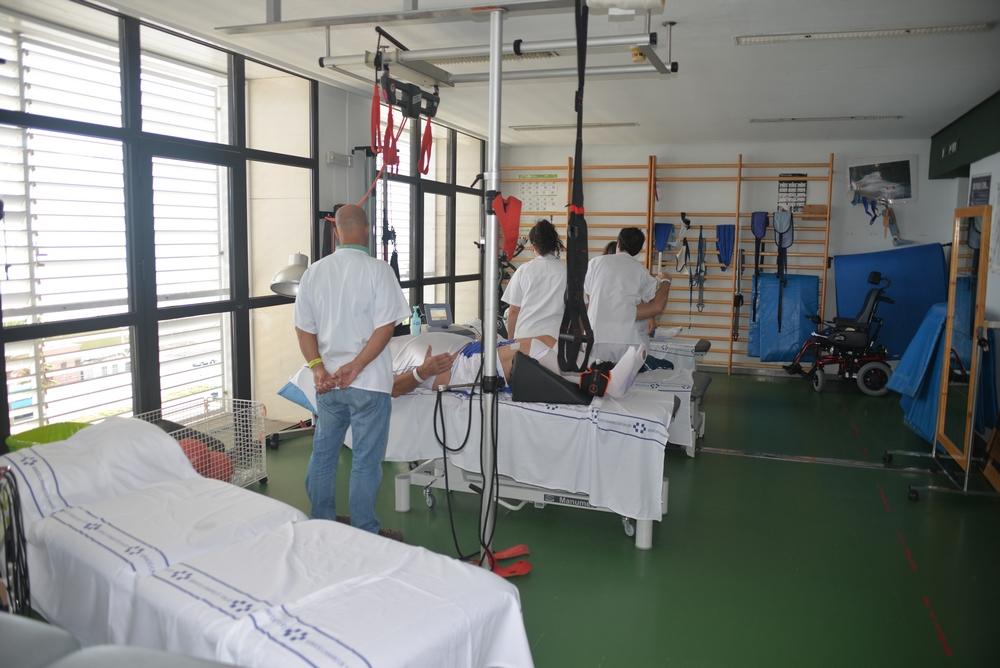 Unidad de Lesionados Medulares.