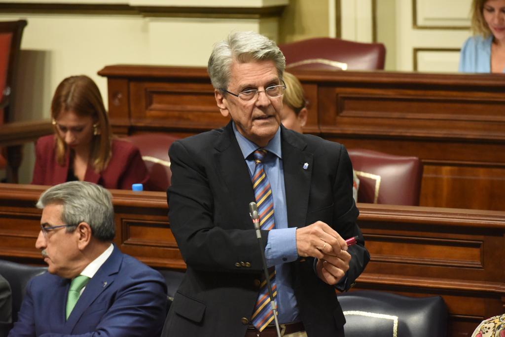 Julio Pérez en el pleno del 24 de septiembre de 2019