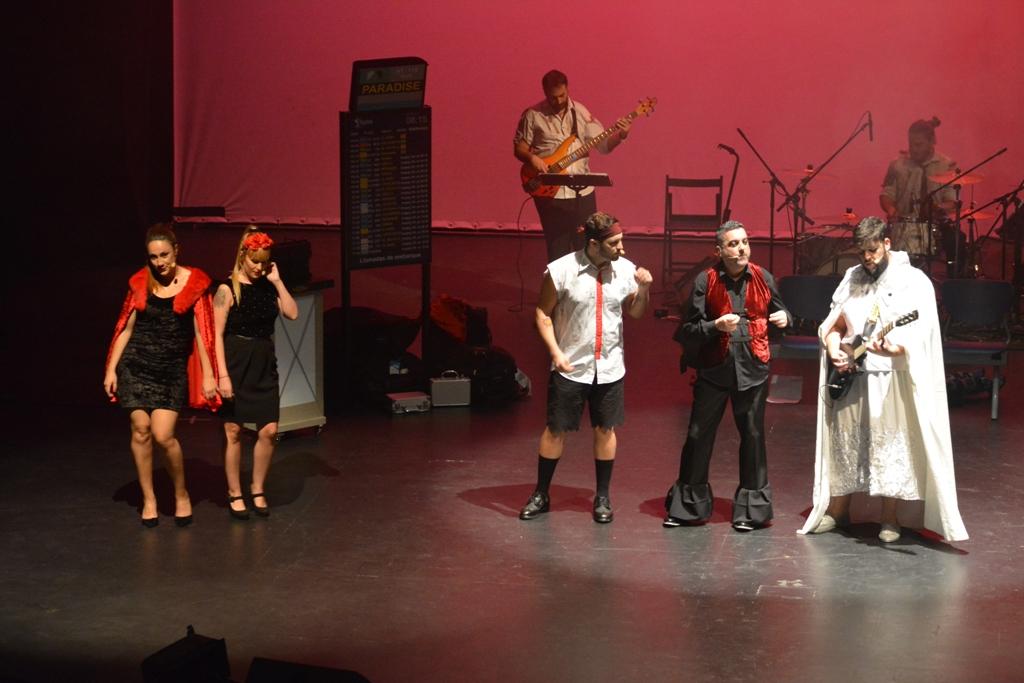 Escena de 'Más allá de la música'