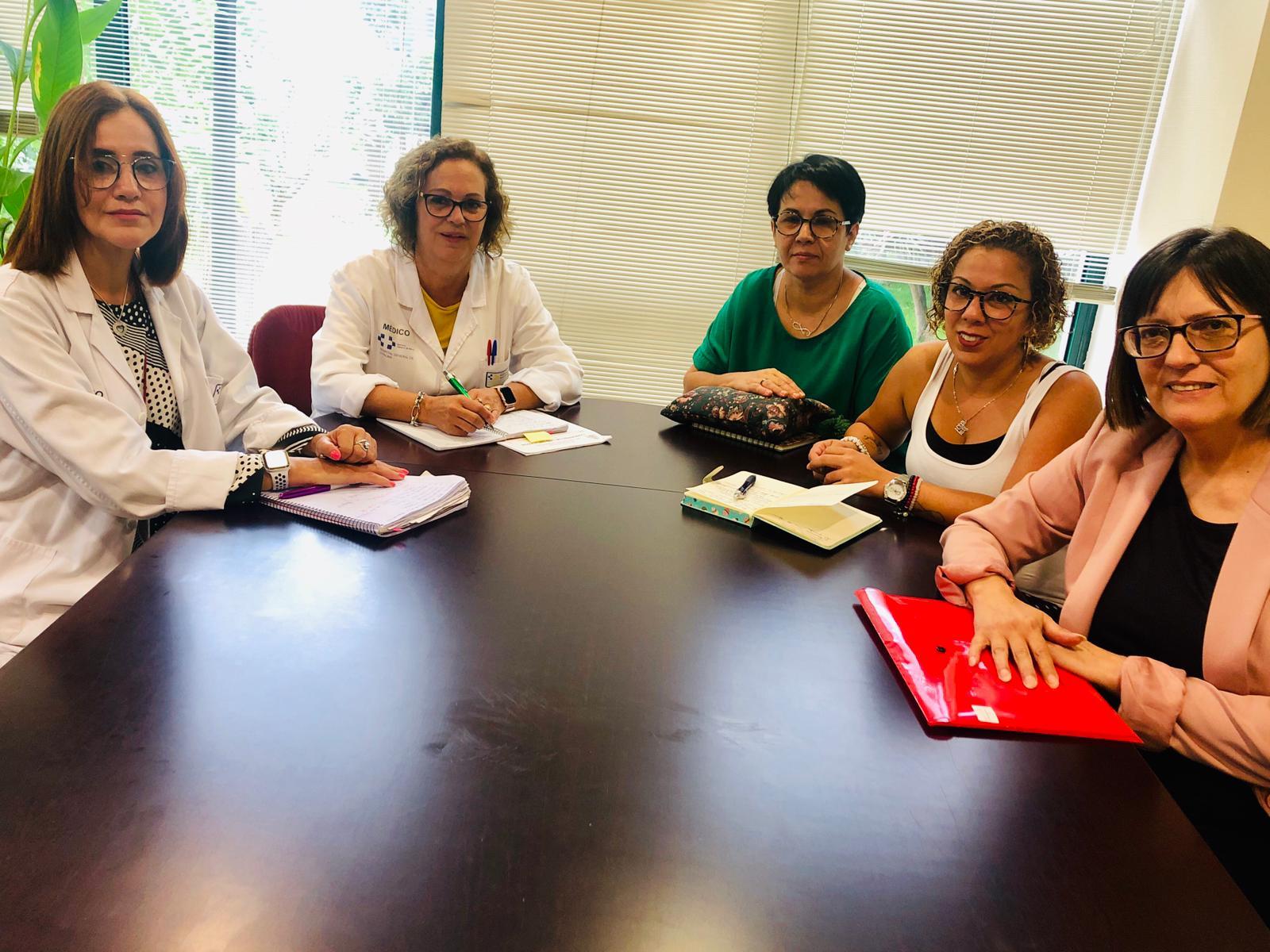 Reunión fibromialgia La Palma