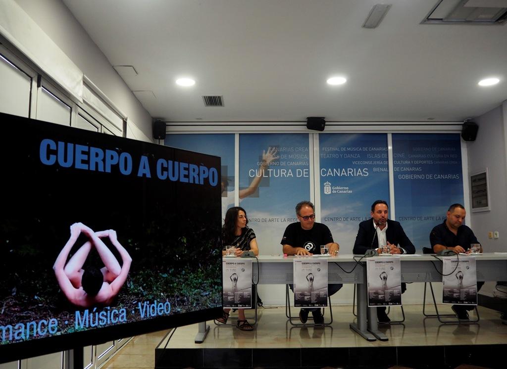 Presentación de Cuerpo a Cuerpo 2019 en La Regenta