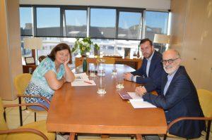 Reunión con el concejal de Educación de La Laguna