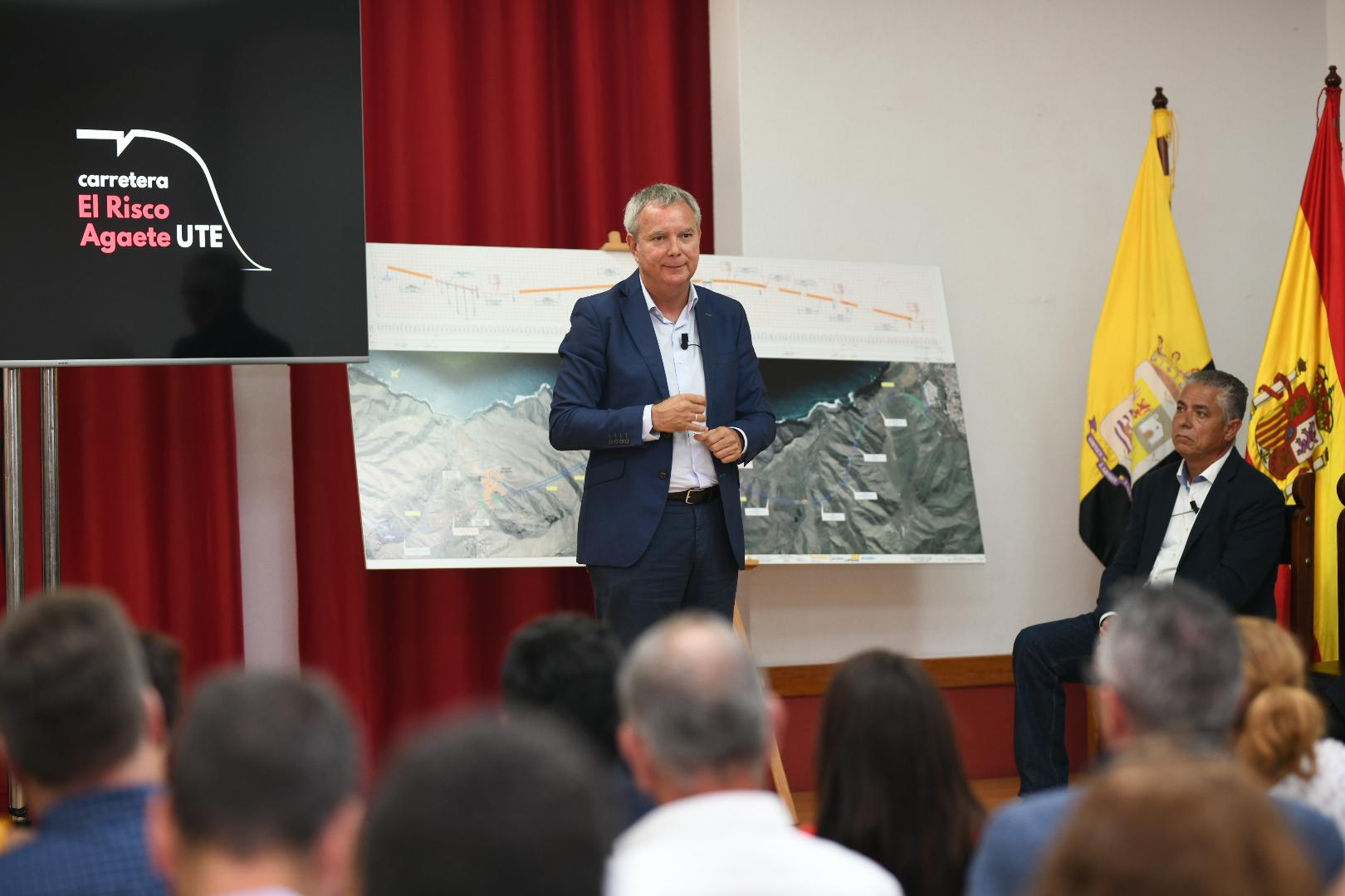 Franquis anuncia el inicio de las obras de la nueva carretera de La Aldea