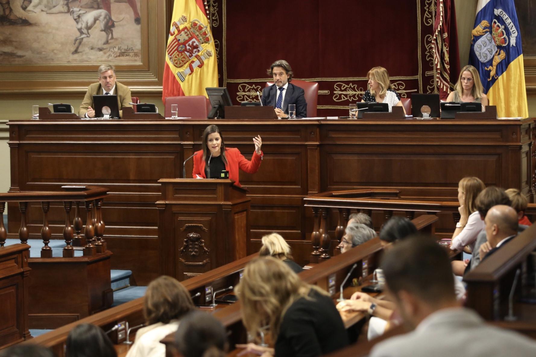04102019 Yaiza Castilla anuncia que se ha recuperado el 58% de las plazas turísticas afectadas por el cierre de Thomas Cook
