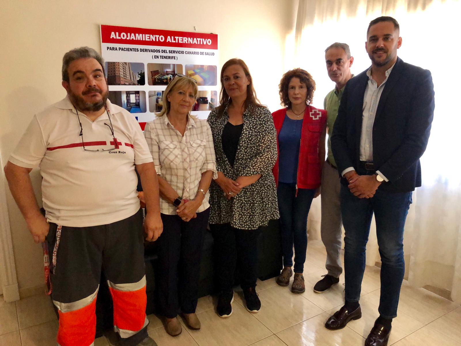 Reunión del Área de Salud de La Palma con Cruz Roja