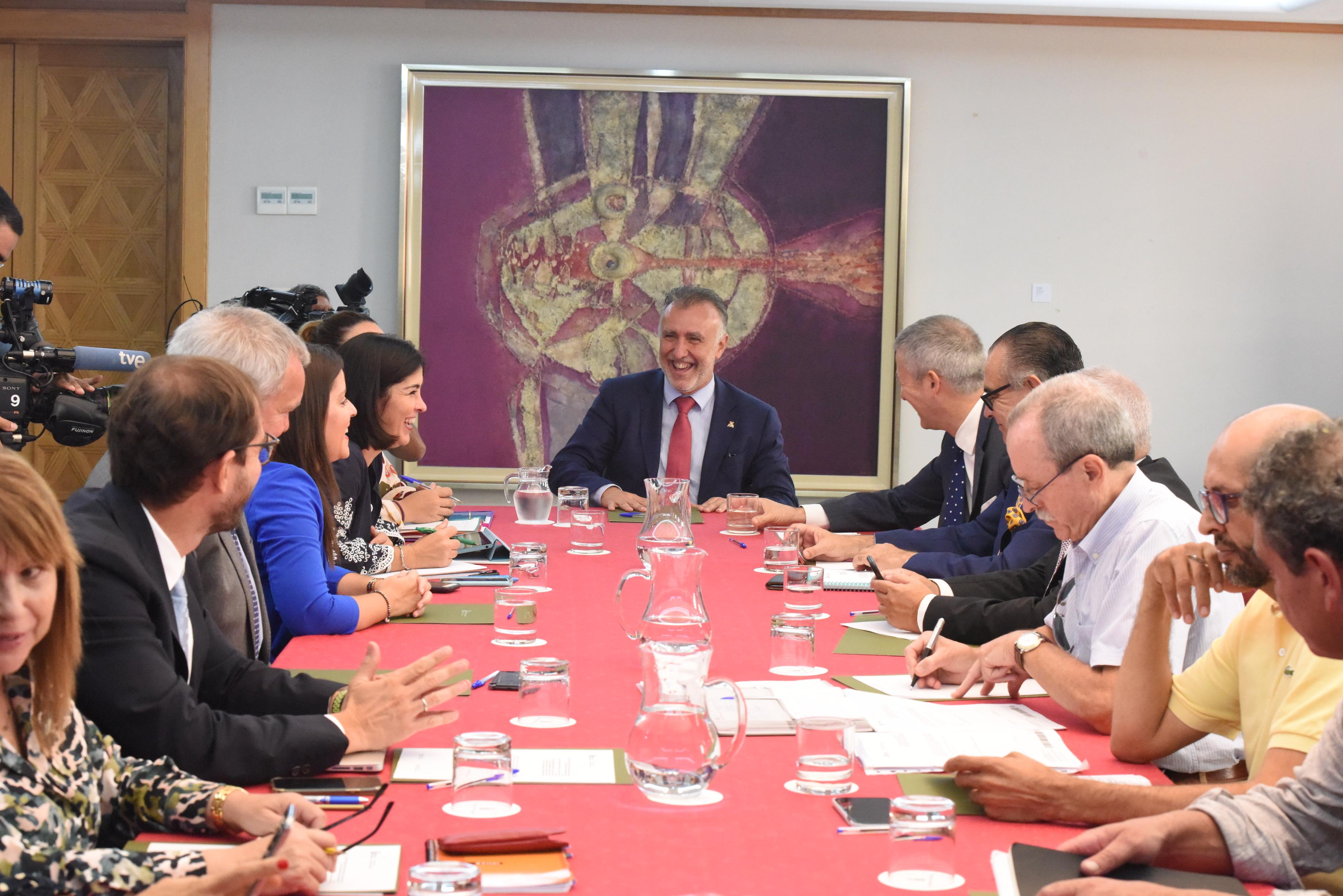 Reunión del Consejo Asesor del Presidente