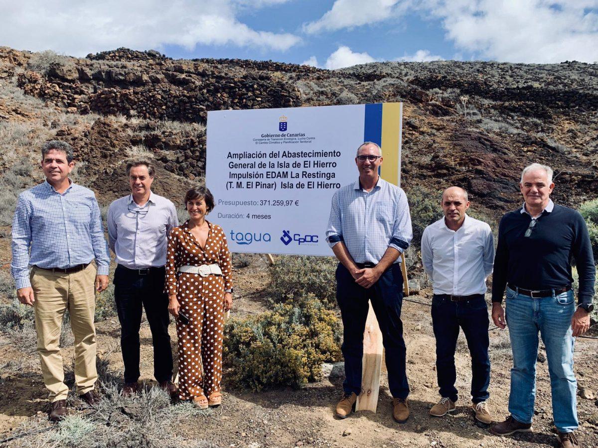 Luz verde para la ampliación del abastecimiento general de la isla de El hierro: impulsión EDAM La Restinga