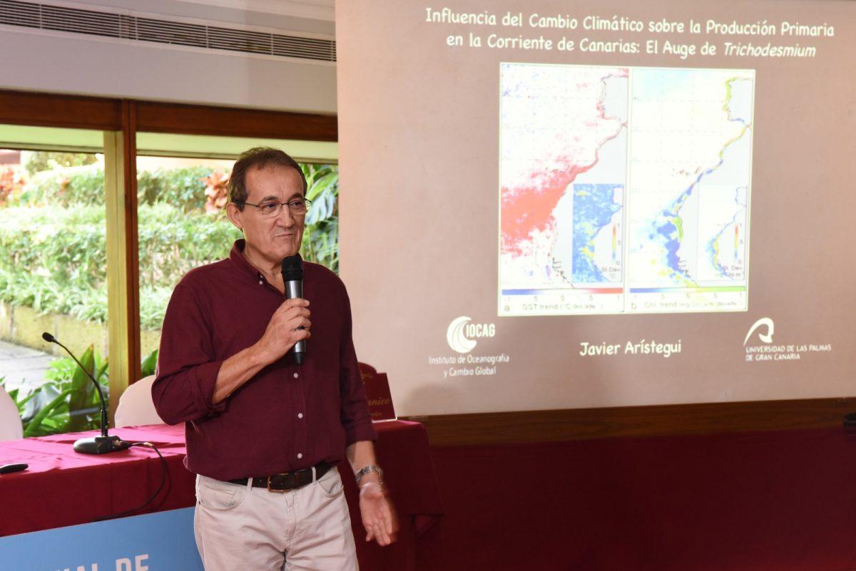 El profesor de la ULPGC, Javier Arístegui