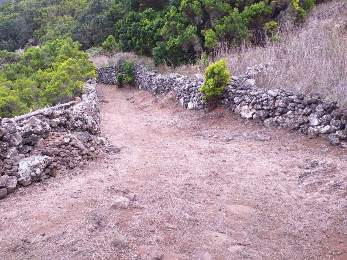 Imagen de un sendero de Canarias