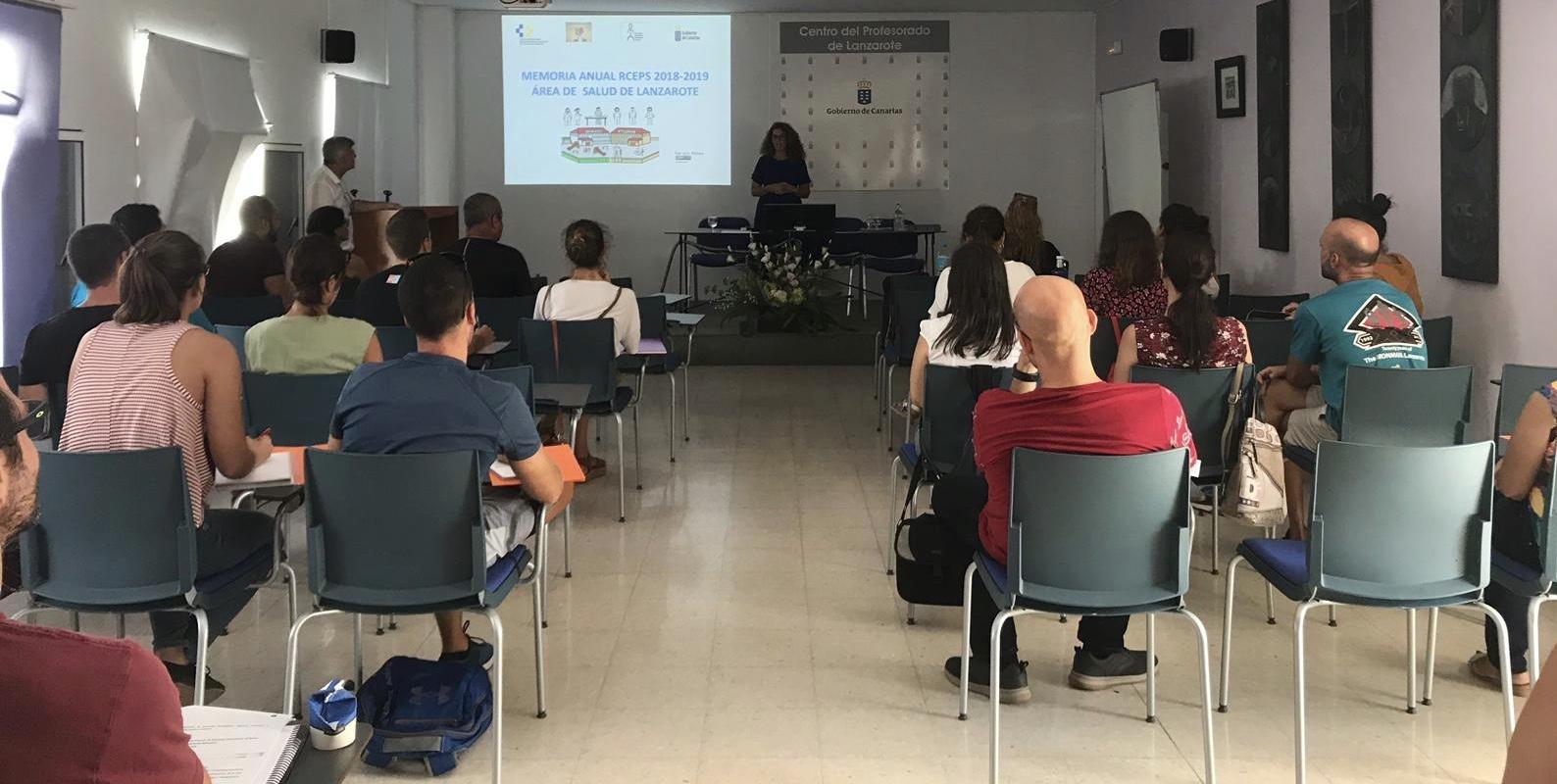 Sanidad expone a la Red Canaria de Escuelas Promotoras de la Salud sus actividades previstas para Lanzarote
