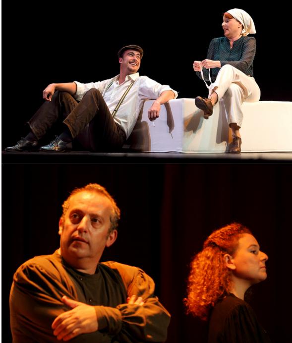 """Capa"" e ""Historias Rusas"", de Burka Teatro"
