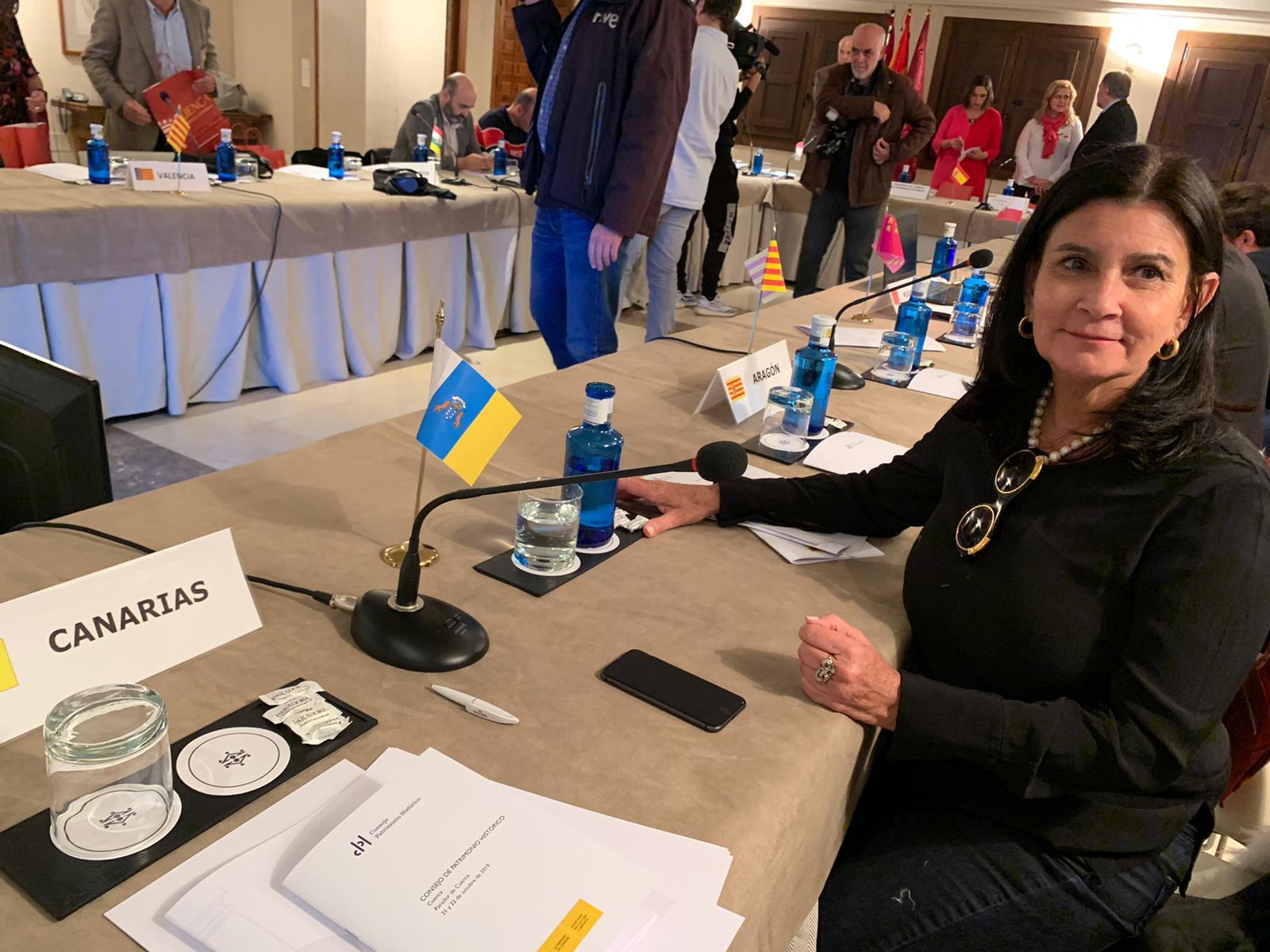 Nona Perera, en el Consejo de Patrimonio Histórico