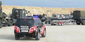 Vehículo de la Policía Canaria