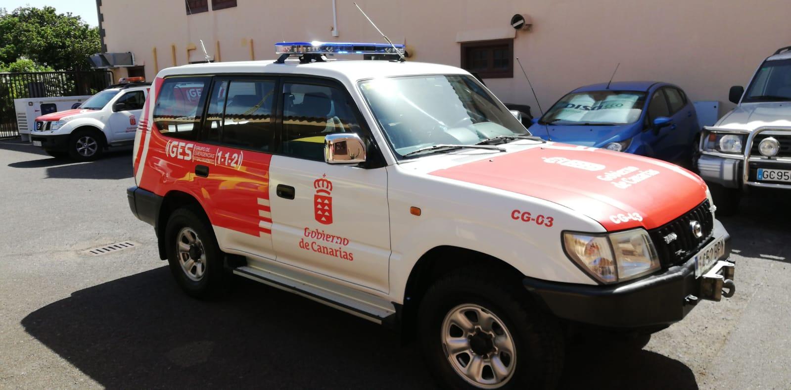 Vehículo Protección Civil Canarias