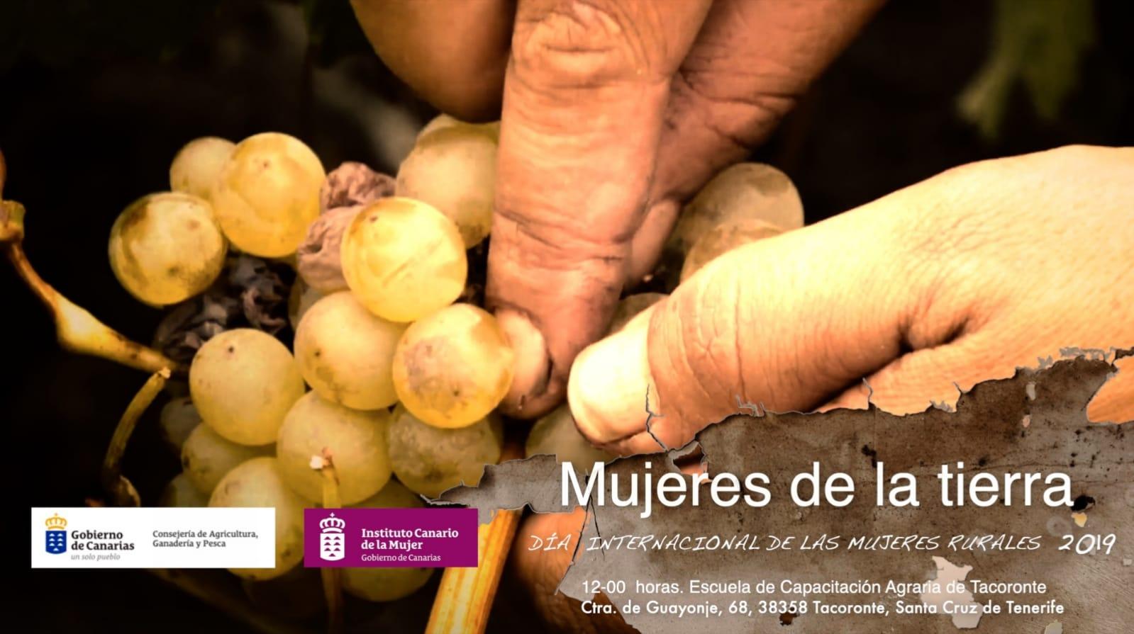 Canarias celebra el Día de la Mujer Rural con el lema 'Mujeres de la Tierra'