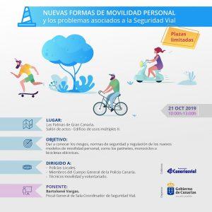 Cartel Jornadas movilidad personal