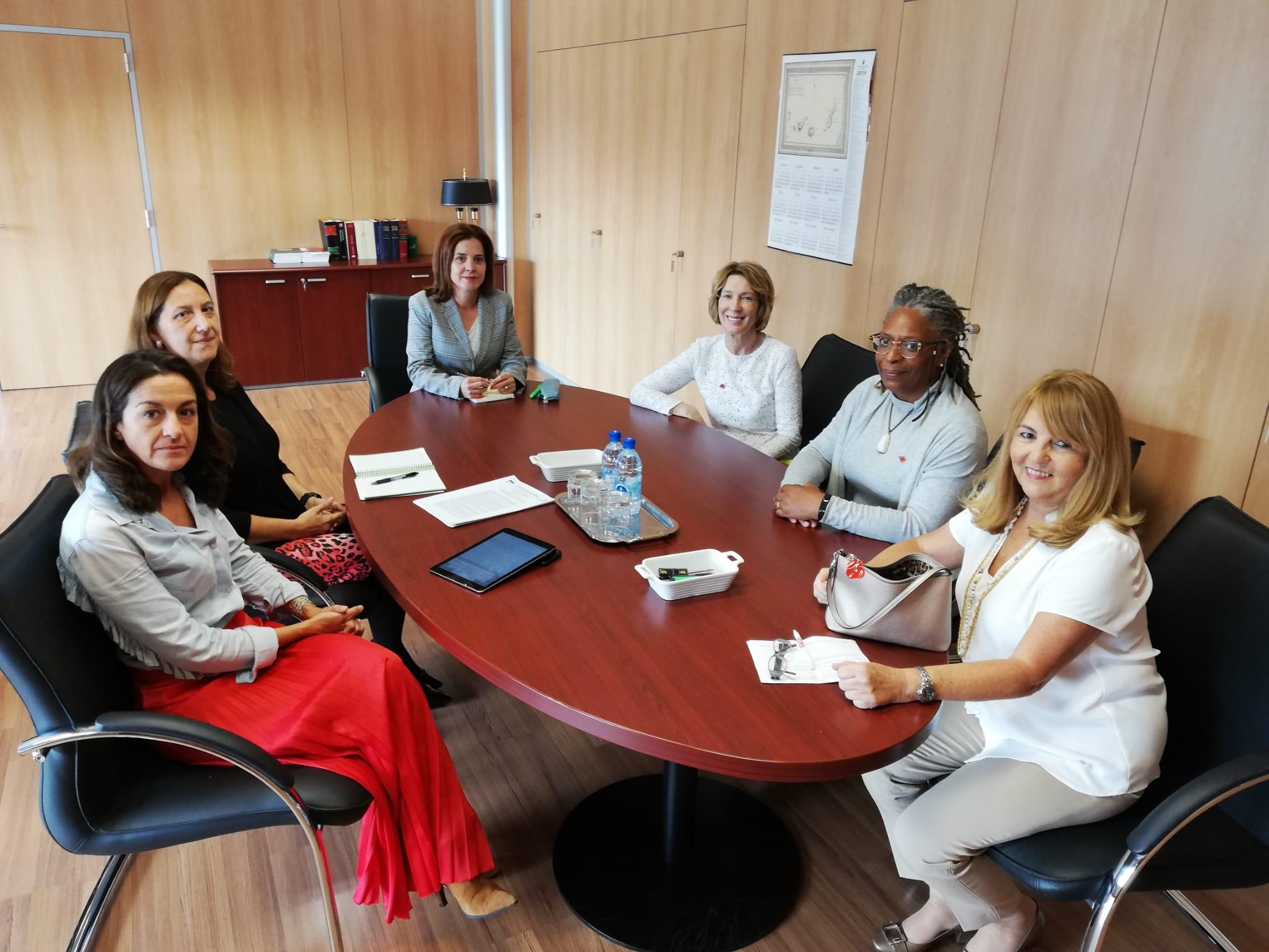 La consejera de Sanidad se reúne con las autoridades consulares de Reino Unido en Canarias