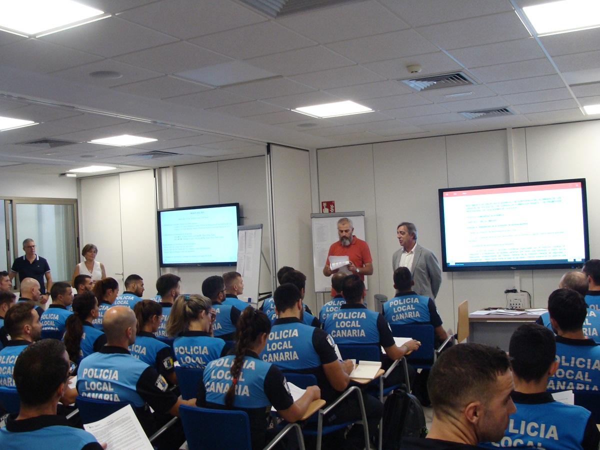 Inauguración LVII Curso Formación Básica Policías Locales