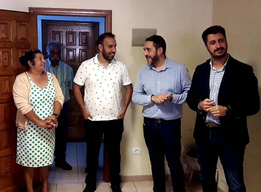 Visita recurso comunidad gitana La Laguna