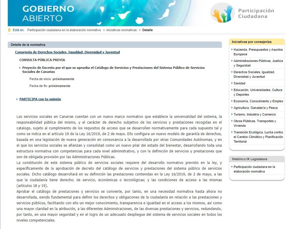 consulta pública catálogo