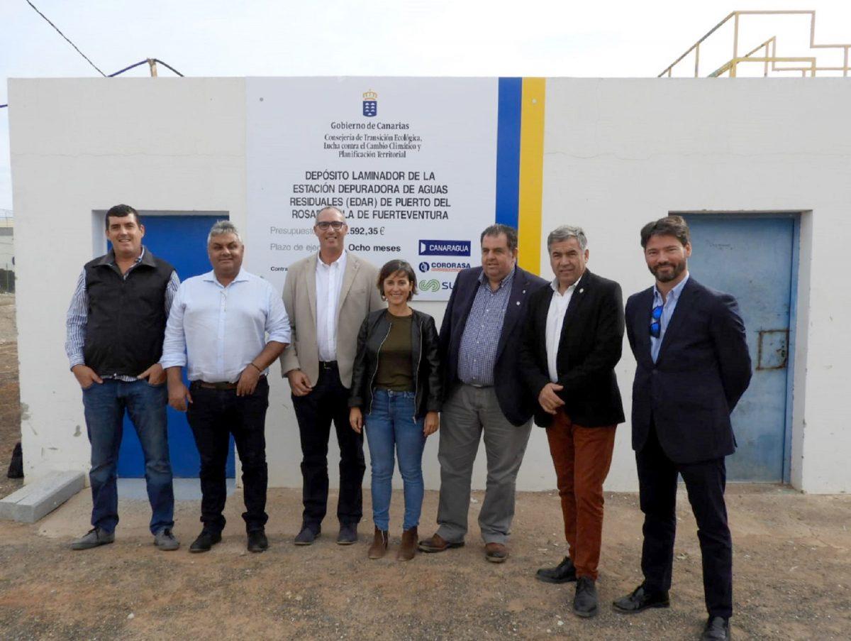 El Gobierno de Canarias habilitará un depósito laminador de agua residual en Puerto del Rosario