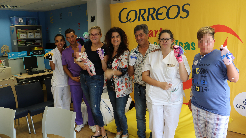 El Hospital Doctor José Molina Orosa acoge una jornada festiva en su área de Pediatría