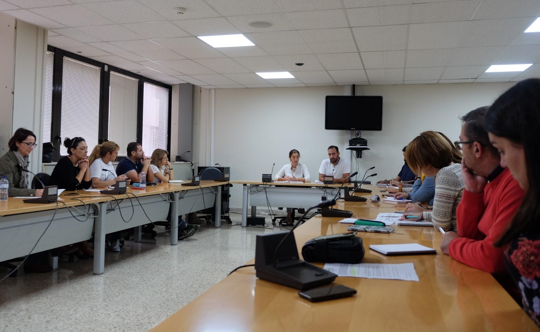 Reunión ayuntamientos Derechos Sociales