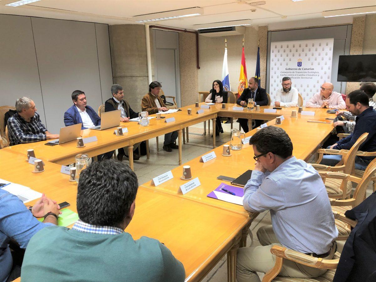 Reunión sobre el proyecto europeo PLANCLIMAC