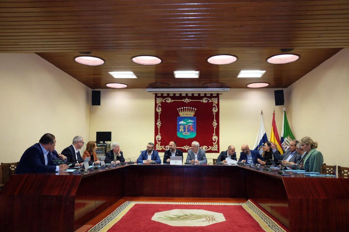 Visita institucional a El Hierro