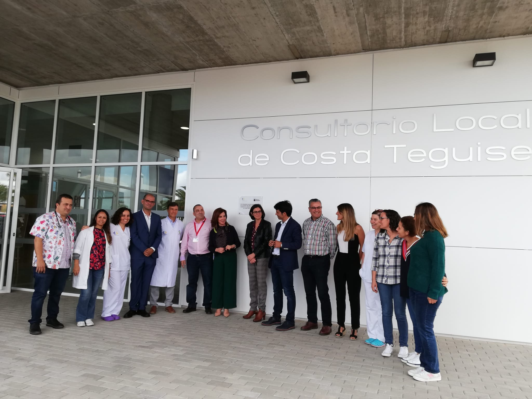inauguración CL Costa Teguise