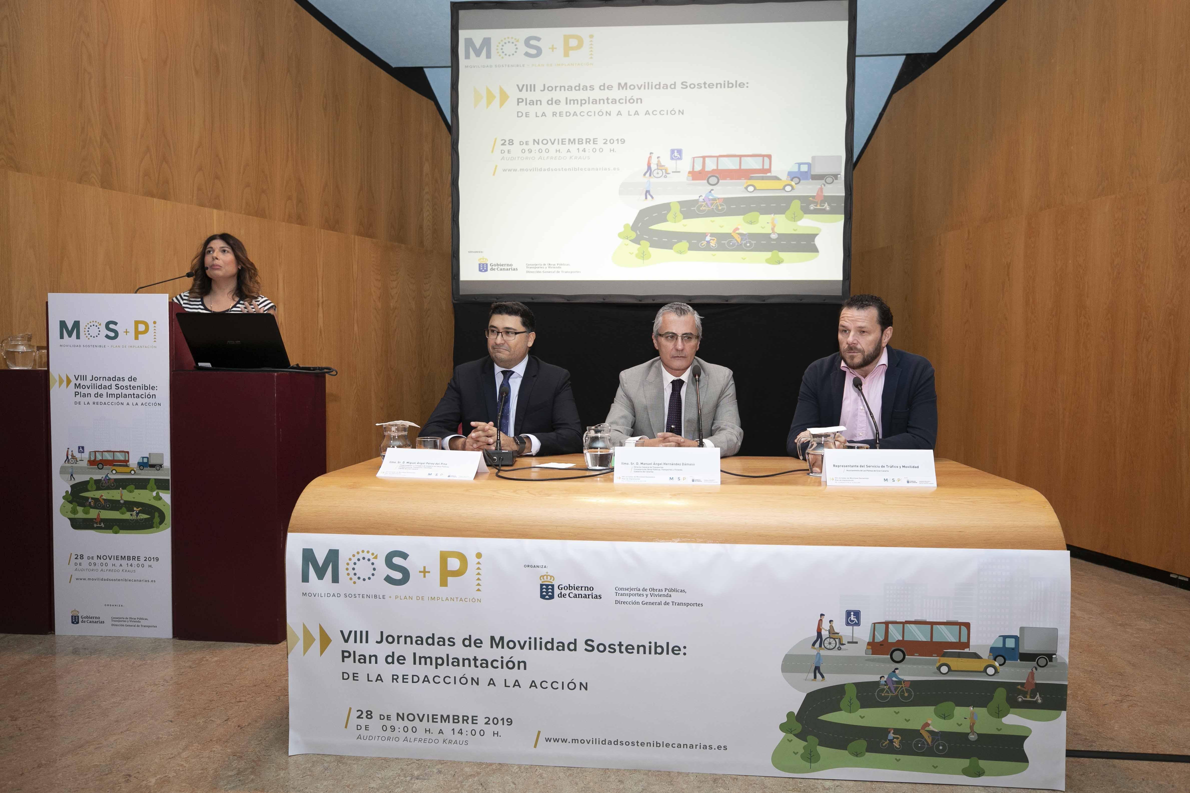 La Consejería de Obras Públicas, Transportes y Vivienda fomenta la movilidad sostenible mediante unas jornadas