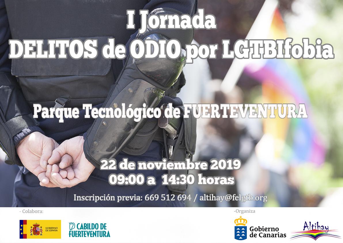 Fuerteventura acoge I Jornada de LGTBIfobia de Canarias