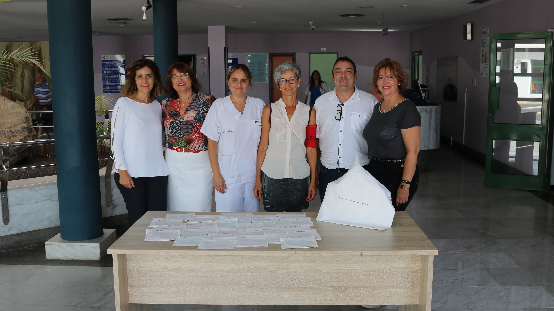 El Hospital Molina Orosa y Charter 100 Lanzarote colaboran en una iniciativa para mujeres con cáncer de mama