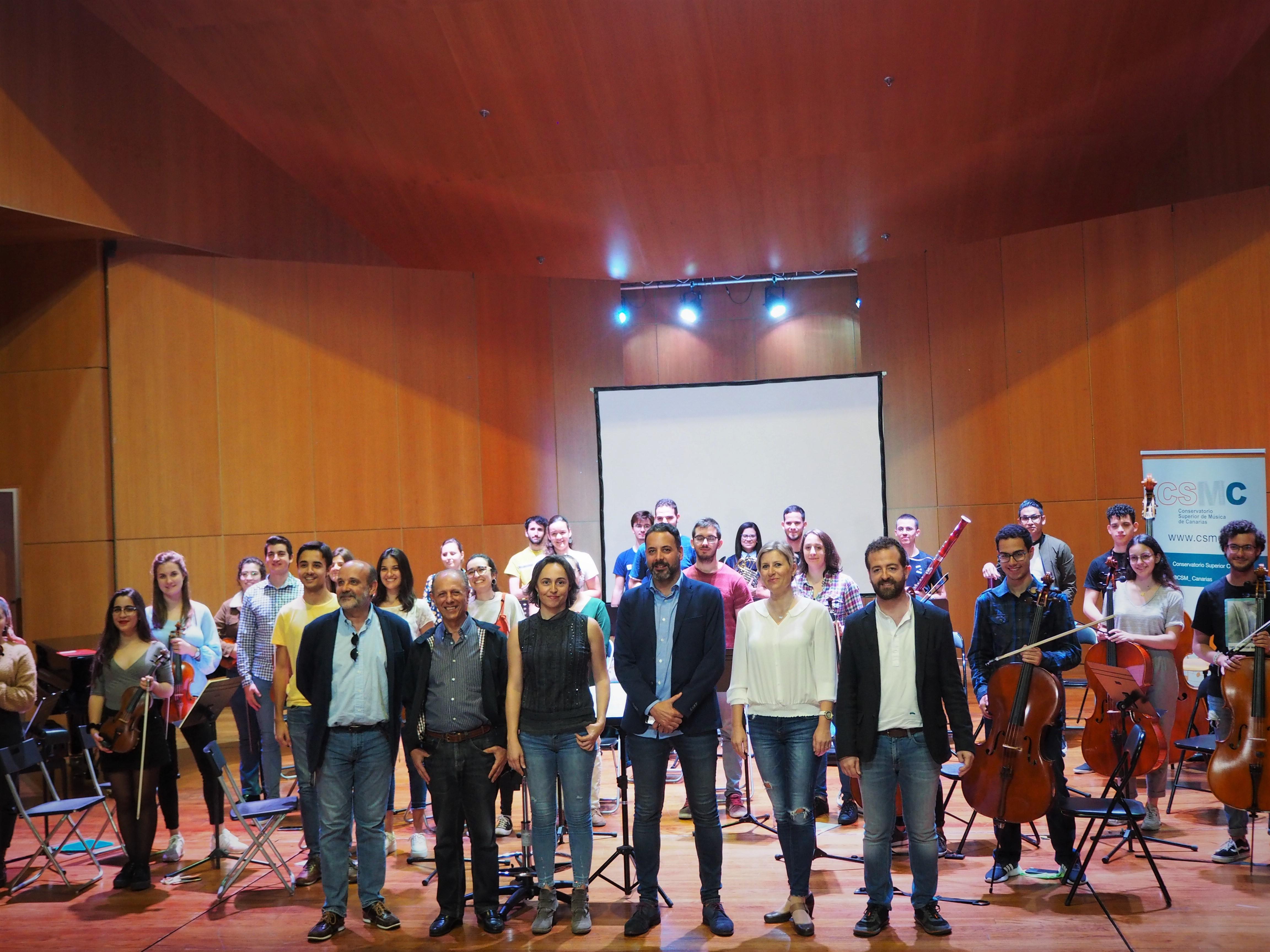 """La Orquesta del Conservatorio arranca este viernes el proyecto """"Sigue la Música"""""""