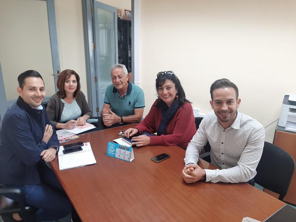 Teresa Cruz visita Fasnia para interesarse por las necesidades sanitarias del municipio