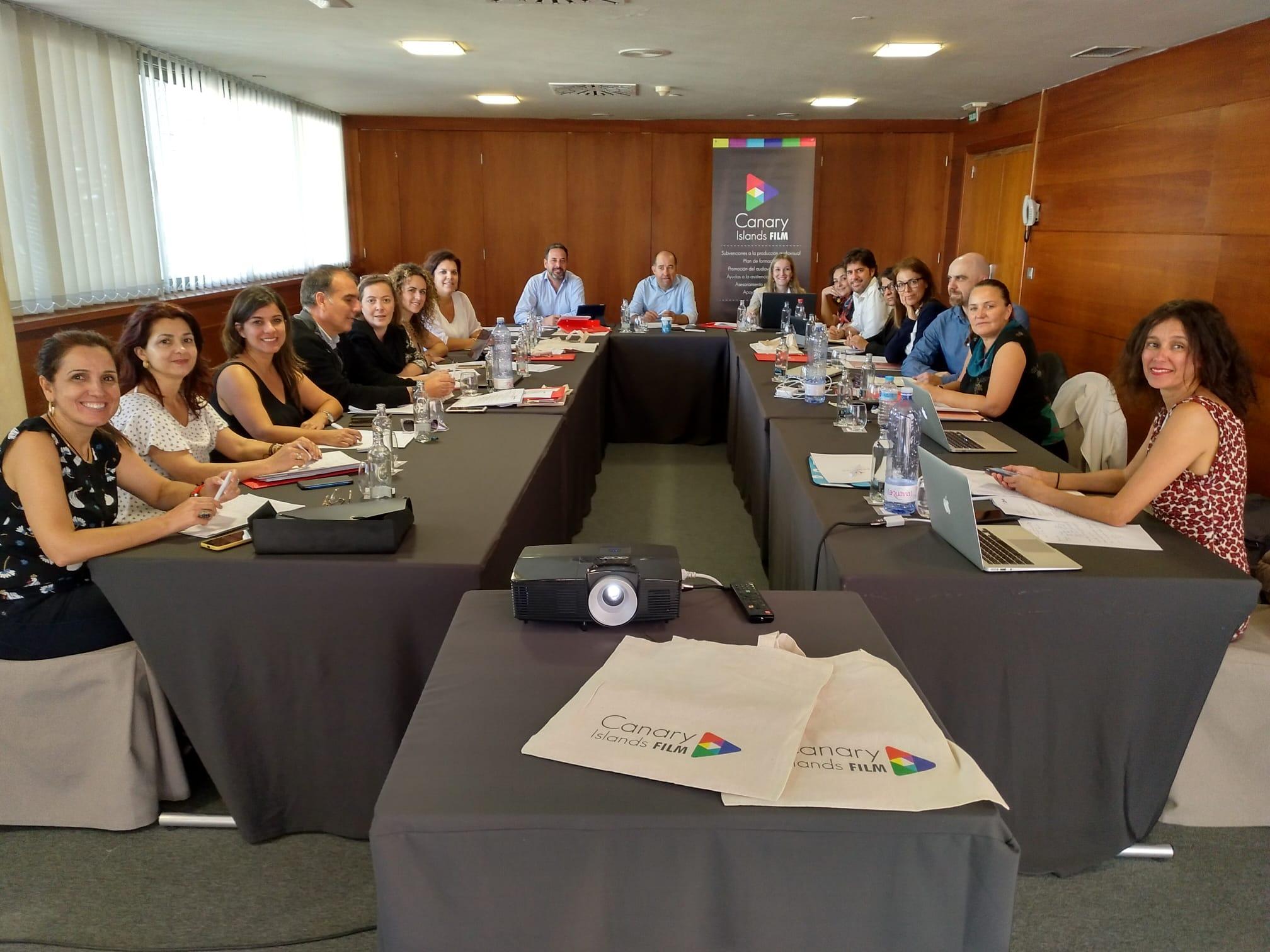 Canary Islands Film reúne a todos sus miembros para fijar la estrategia de 2020