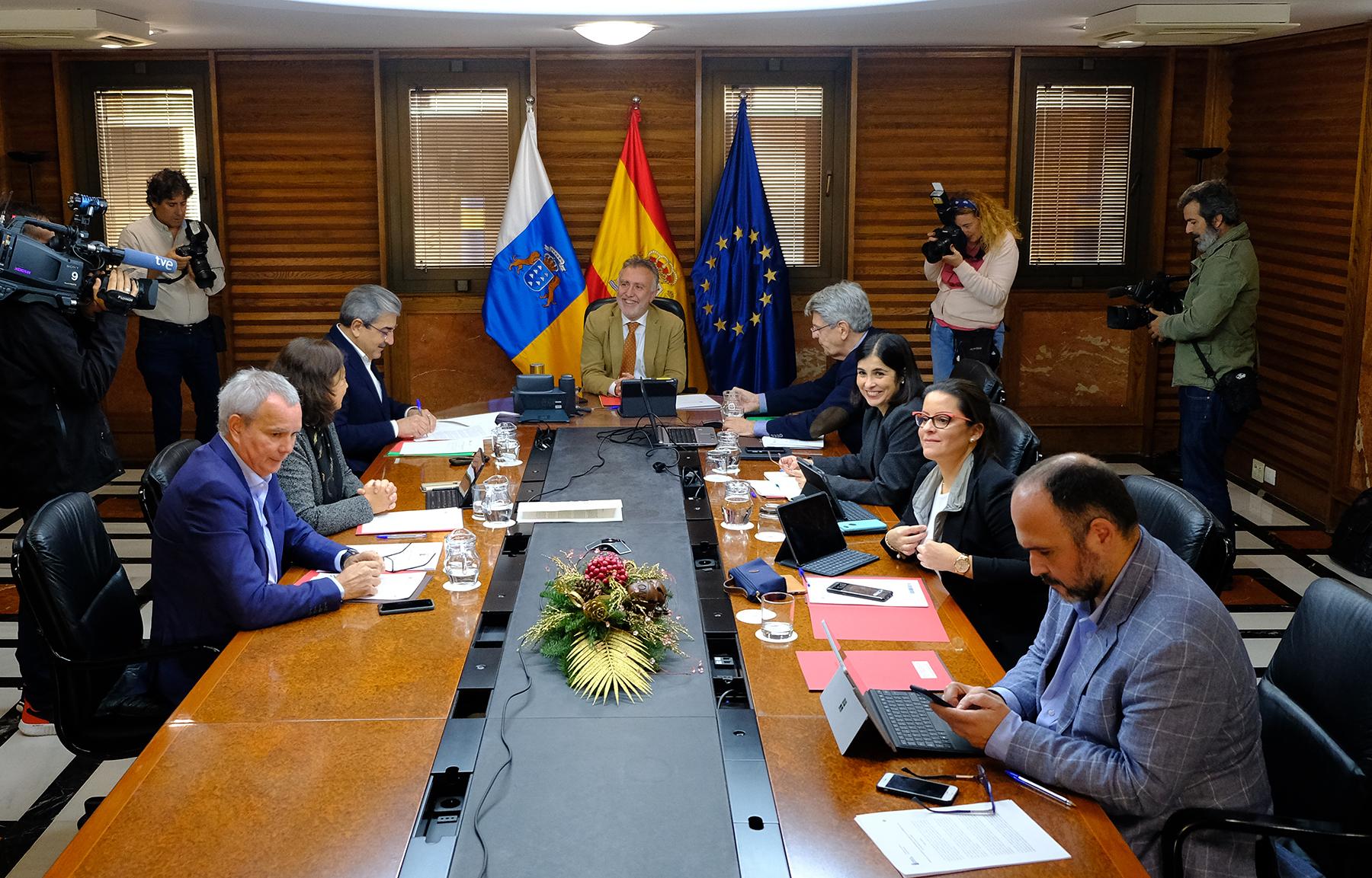 Último Consejo de Gobierno de 2019