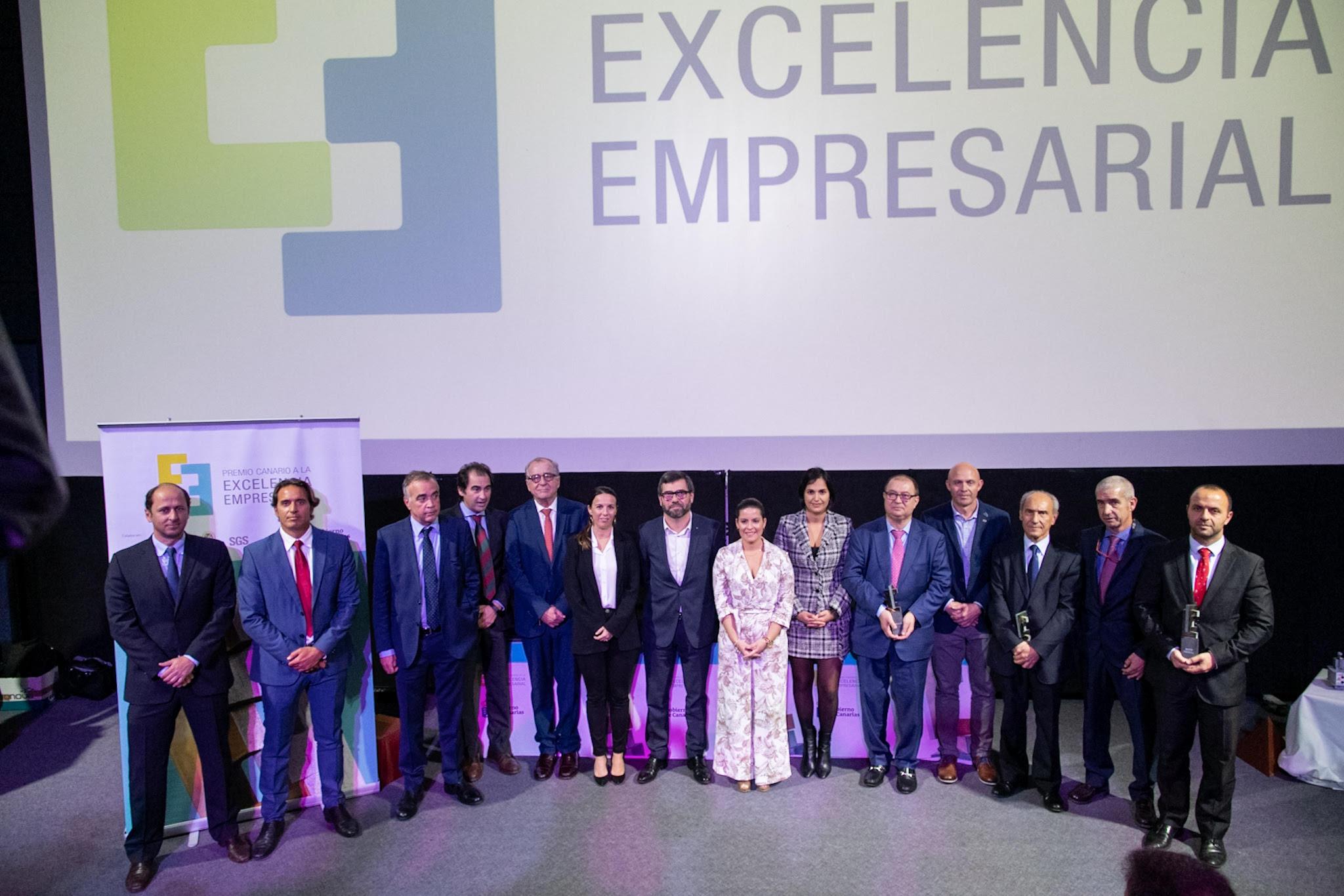 13122019 Las empresas Emicela, Quesos San Mateo y Master-Peritas, galardonadas en los X Premios Canarios a la Excelencia Empresarial